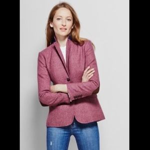 J Crew Womens Elbow Patch Keating Boy Blazer 10